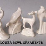 Flower Bowl Ornaments