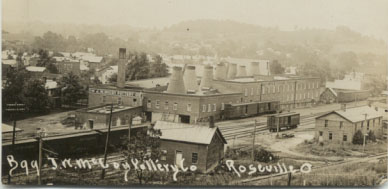 J. W. McCoy Pottery in 1899