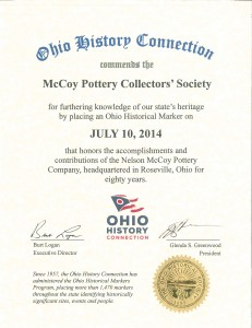 Ohio History Connection Award